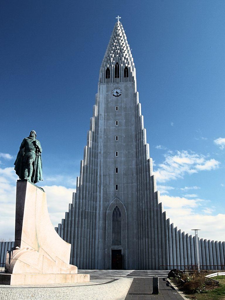 Hallgrímskirkja, Reykjavík, Island