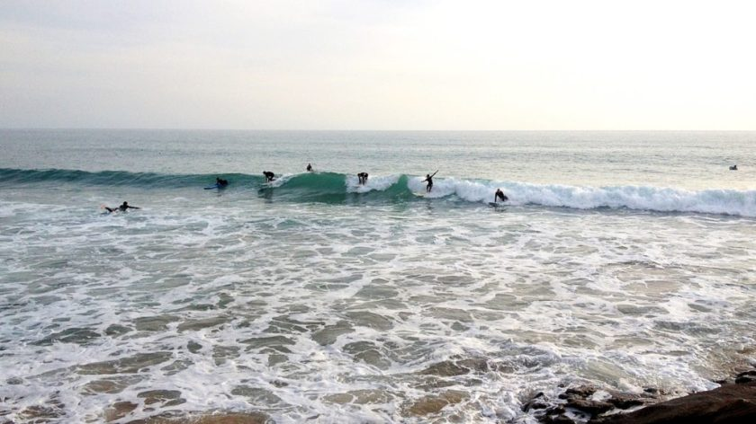 Surfaři, surfování