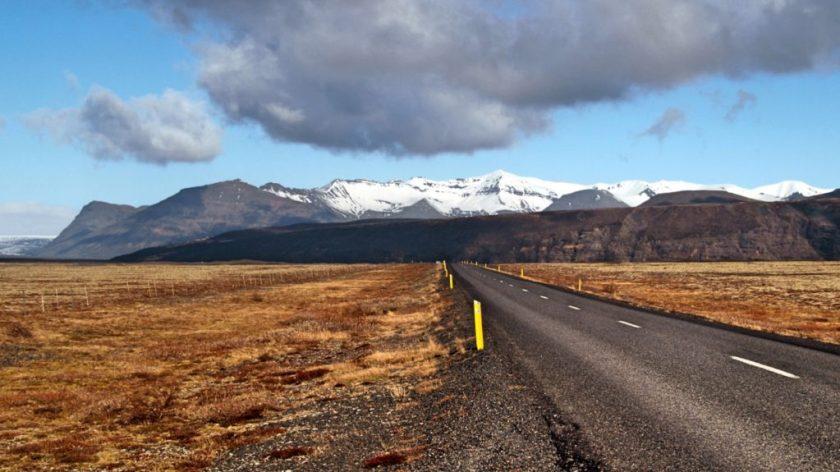 Skaftafelljokull, Island