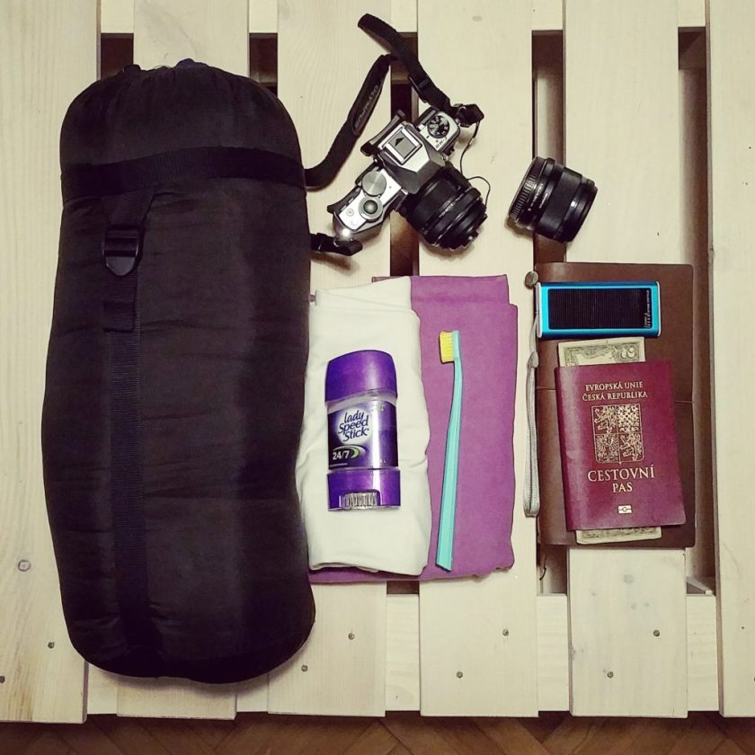 Obsah příručního zavazadla