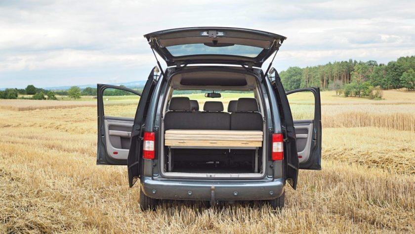 VW Caddy, obytná vestavba