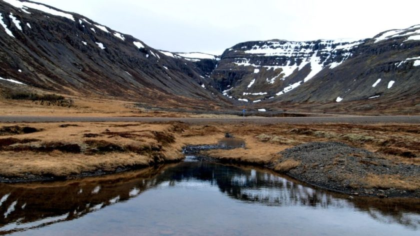 West fjords, Island