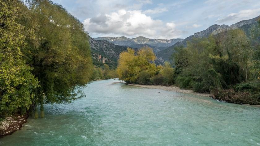 Acheronovy prameny na severu Řecka