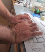 unterarm handgelenk