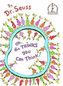 Dr Seuss Oh The Thinks You Can Think
