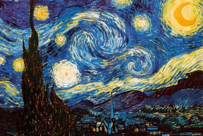 Van Gogh The Starry Night 1889.