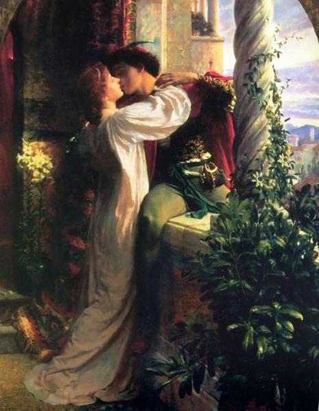Romeo and Juliet Frank Dicksee 1884