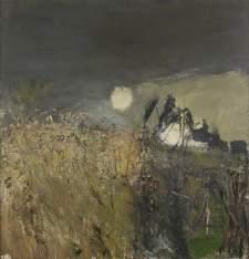 """""""Field of Oats"""" (1962, oil on board)"""
