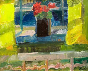 """Sunny Window"" (nd, oil on canvas)by Astrid Munth de Wolfe"