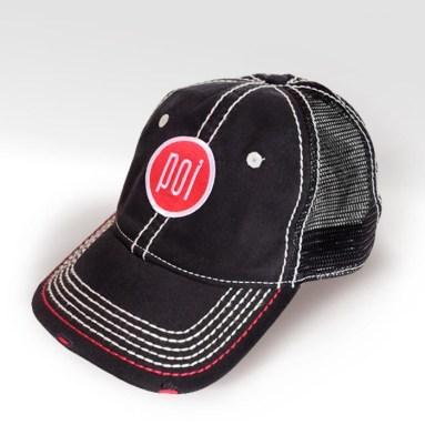 POI_baseball cap_blackNred