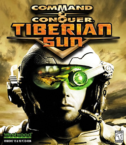 Command & Conquer: Tiberian Sun windows box art (Fair Use, WikiMedia)
