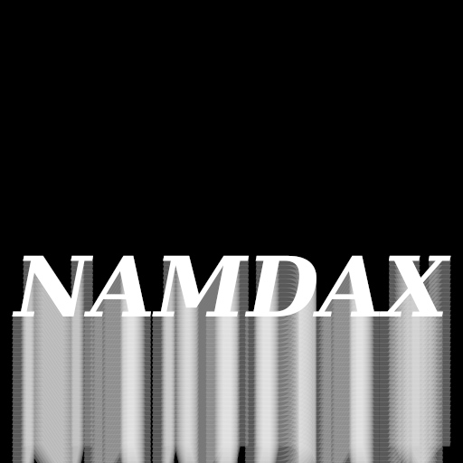Namdax OST album cover art