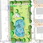Planentwurf: Landschaftsarchitekt Max Bauer