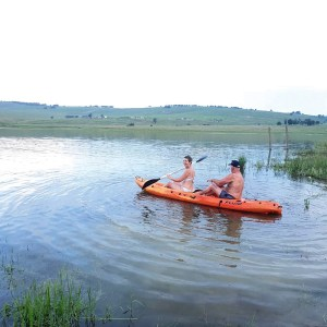 Cabin1 canoeing