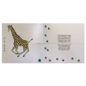 Mr Muddles giraffe