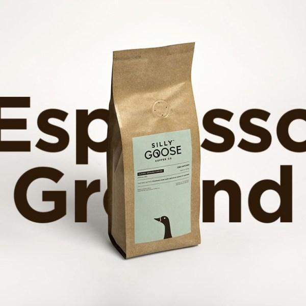 Silly Goose Dark Roast, ground coffee