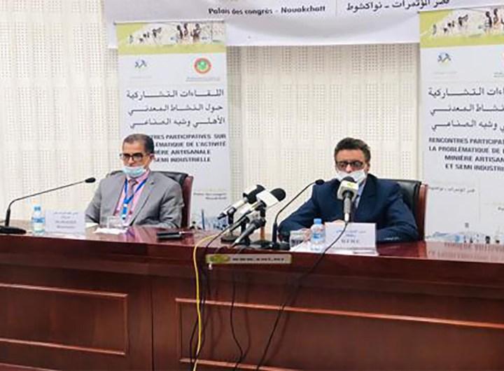 resultats-reunions-activite-miniere-ministre-dg-maaden-mauritanie