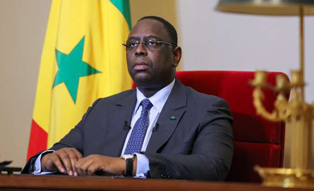 """A handout photo distributed by the Senegalese Presidential Press Office shows Senegalese President Macky Sall preparing to a  televised speech, on February 16, 2016 in Dakar. Sall said on February 16, 2016 the country's top court had rejected his proposal to cut his current presidential term by two years to five. Sall had proposed 15 reforms in all, including limiting presidential terms to two mandates and expanding the powers of the national assembly and the constitutional council.  - RESTRICTED TO EDITORIAL USE - MANDATORY CREDIT """"AFP PHOTO / SENEGAL PRESIDENTIAL PRESS OFFICE"""" - NO MARKETING NO ADVERTISING CAMPAIGNS - DISTRIBUTED AS A SERVICE TO CLIENTS    / AFP / SENEGAL PRESIDENTIAL PRESS OFFICE / HO / RESTRICTED TO EDITORIAL USE - MANDATORY CREDIT """"AFP PHOTO / SENEGAL PRESIDENTIAL PRESS OFFICE"""" - NO MARKETING NO ADVERTISING CAMPAIGNS - DISTRIBUTED AS A SERVICE TO CLIENTS"""