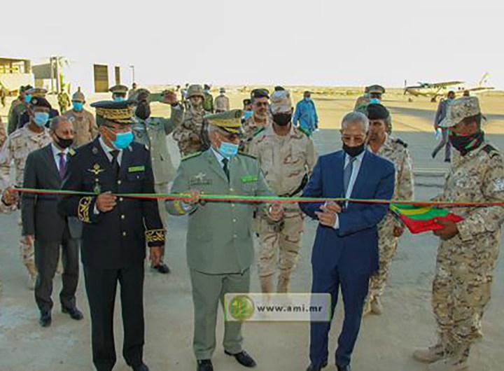 le-ministre-de-la-defense-inaugure-un-hangar-pour-avions-a-l-etat-major