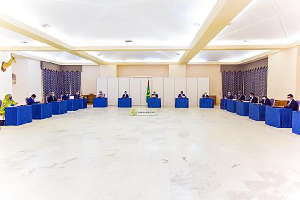 conseil des ministres Mauritanie