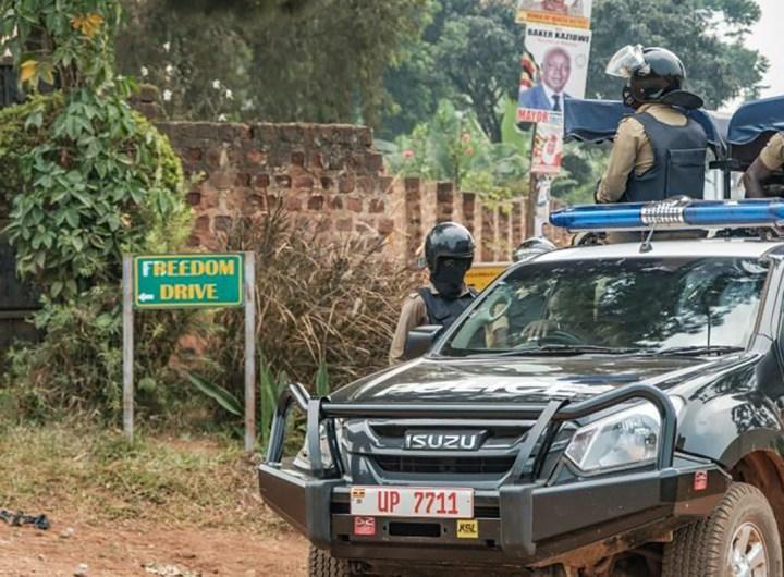 assignation à résidence de Bobi Wine