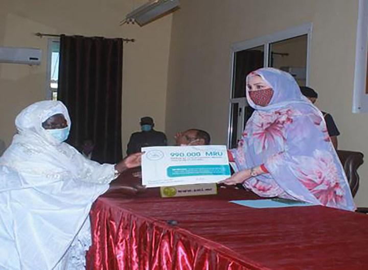 50 MRU groupements féminins Mauritanie