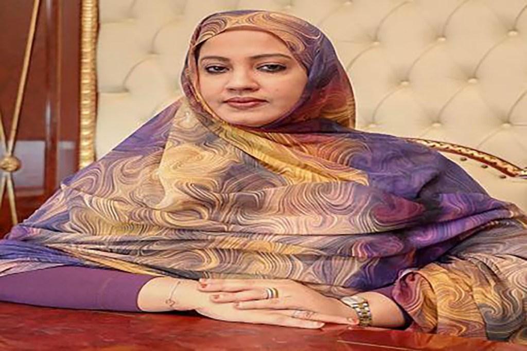 Première dame Mme Mariem Mohamed Fadel Dah Mauritanie