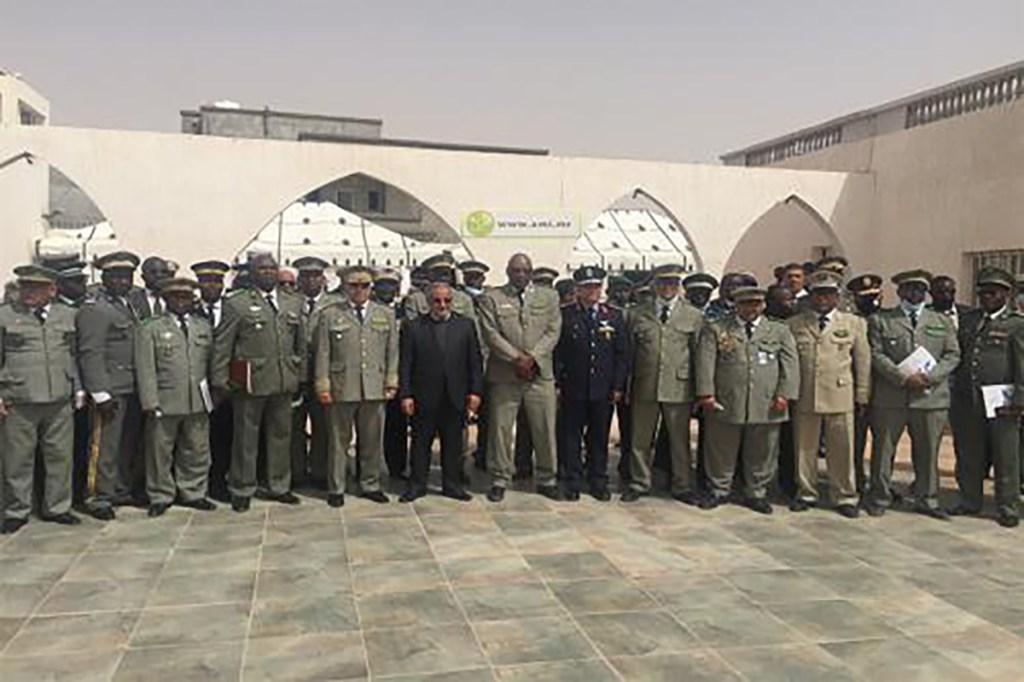 Nouadhibou Le collège de défense du G5 Sahel