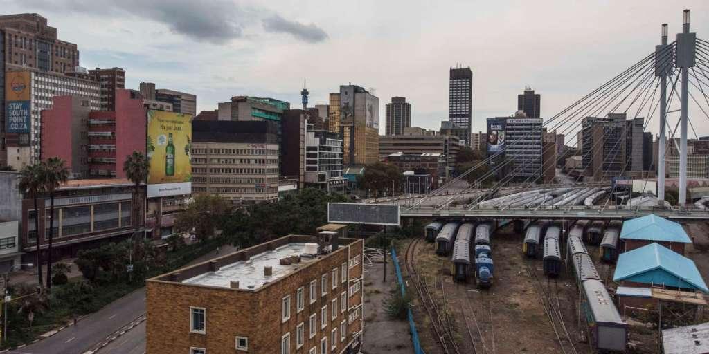 Des pillards désossent les gares en Afrique du Sud