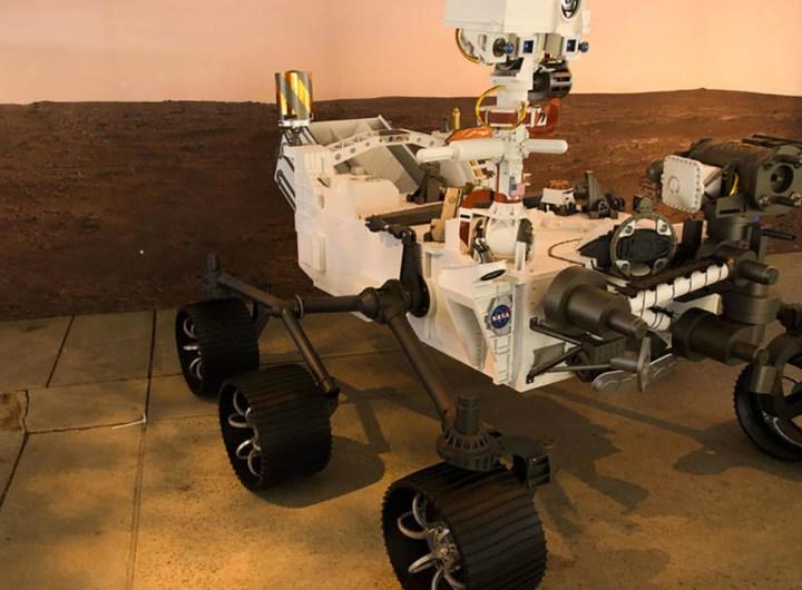 Le robot perserverance sur Mars