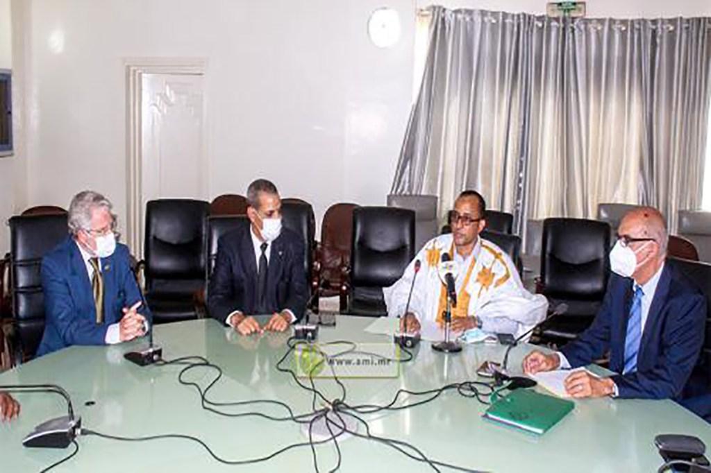 Création d'un groupe parlementaire d'amitié mauritano-espagnole