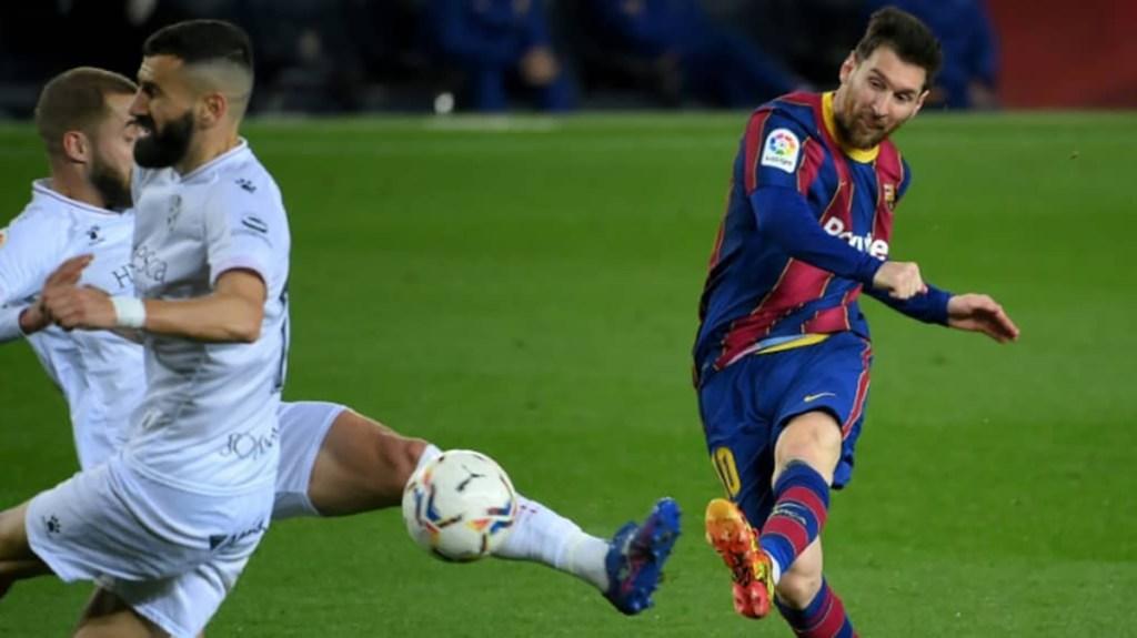 Espagne Messi et Griezmann relancent le Barça