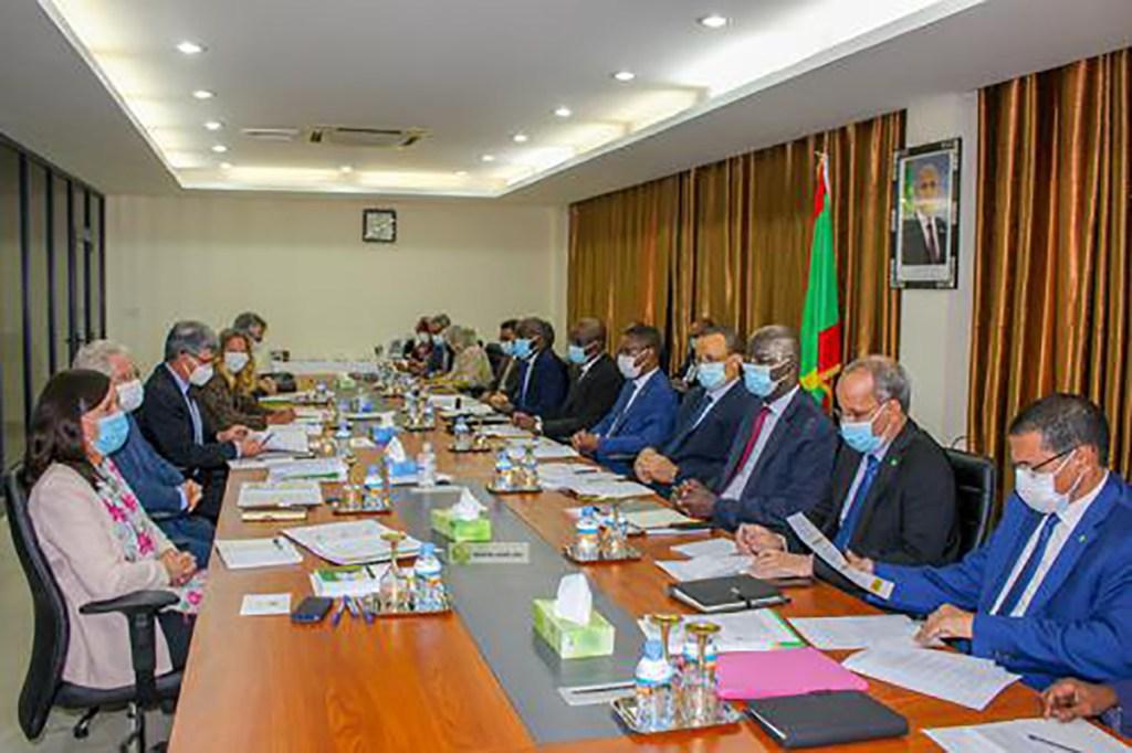 Réunion de consolidation des relations entre la Mauritanie et l'Union Européenne