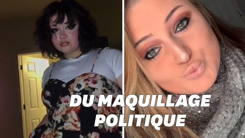 TikTok les tutos beauté deviennent politiques
