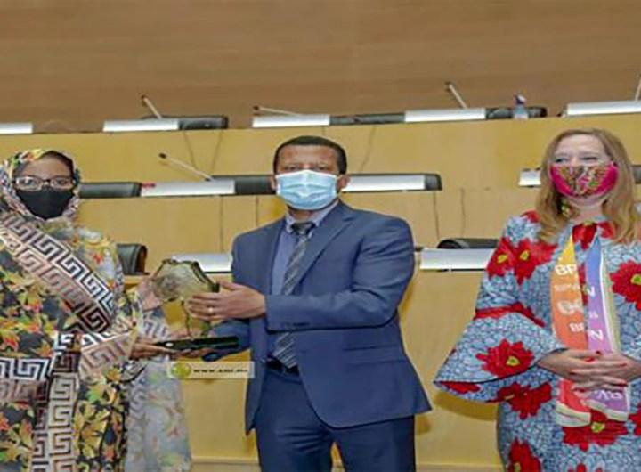 L'Union Africaine octroie au président Ghazouani un prix de considération