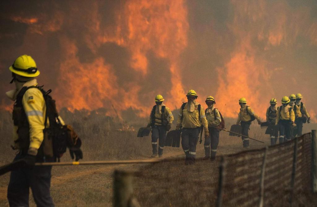 Afrique du Sud: les dégâts historiques de l'incendie qui menace Le Cap