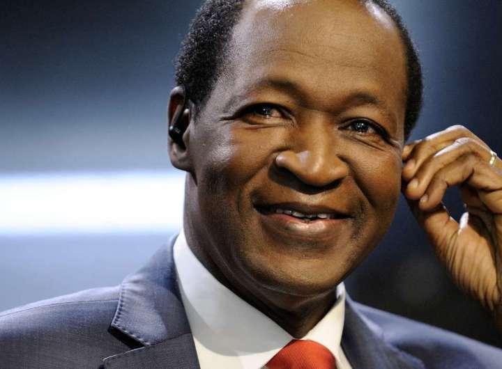 Burkina Faso, l'ex-président Compaoré bientôt jugé pour l'assassinat de Thomas Sankara