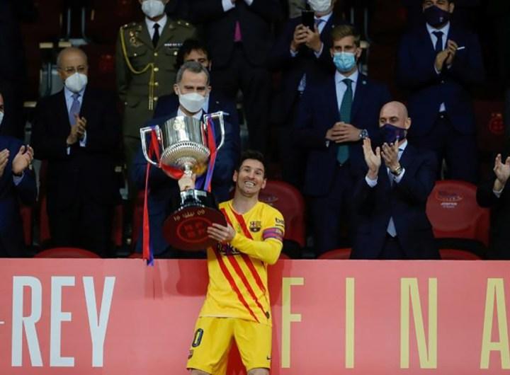 Coupe d'Espagne: Messi offrent son 31e sacre au Barça