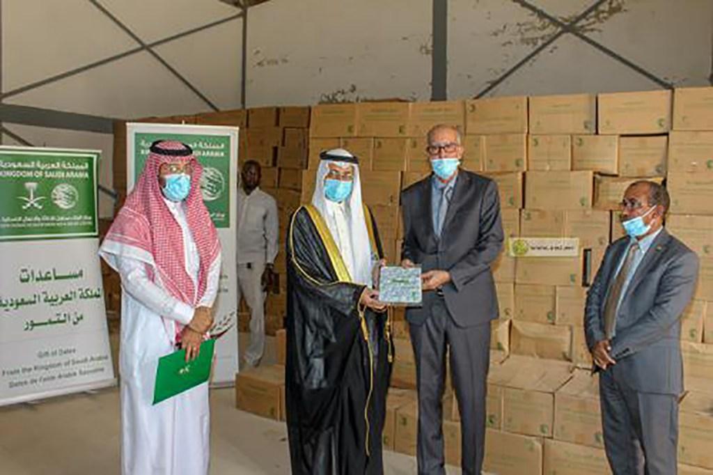 Don de 100 tonnes de dattes, l'Arabie Saoudite à la Mauritanie
