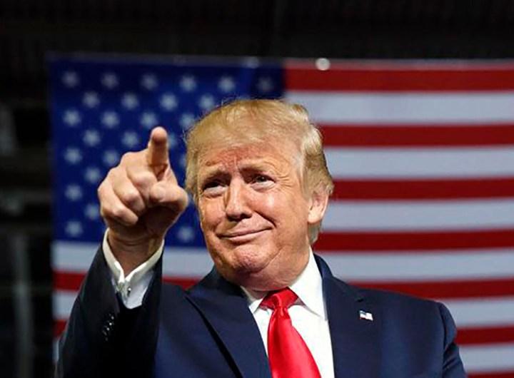 """Donald Trump a un nouveau site web qui vante son """"magnifique héritage"""""""