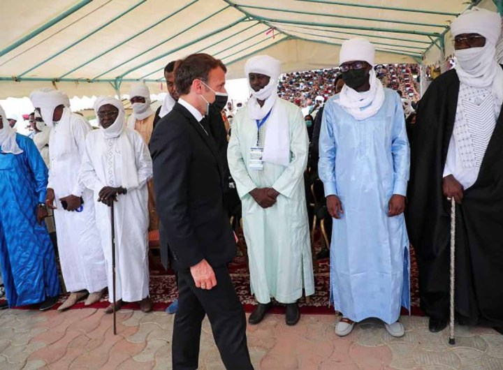 """Funérailles d'Idriss Déby: la France assure la junte de son soutien pour la """"stabilité"""""""