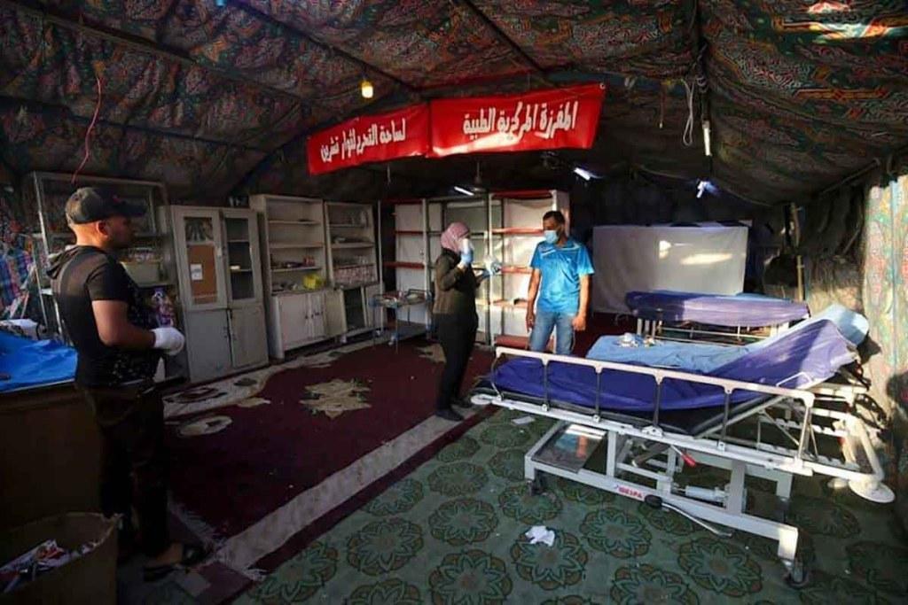 Irak : L'incendie d'un hôpital dédié au Covid-19 fait au moins 23 morts