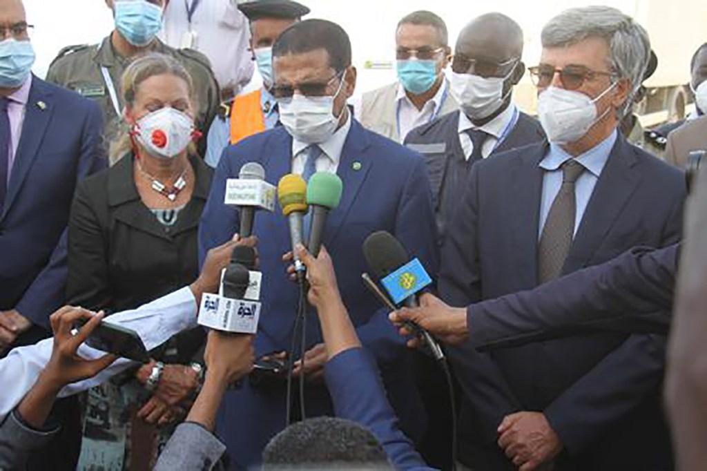 La Mauritanie a reçu son premier lot de vaccins du système COVAX