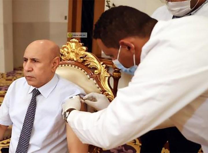 Le-President-Ghazouani-a-pris-sa-premiere-dose-du-vaccin-contre-la-covid-19