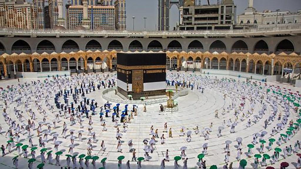 Le petit pèlerinage de La Mecque (OMRA) autorisée aux personnes vaccinées