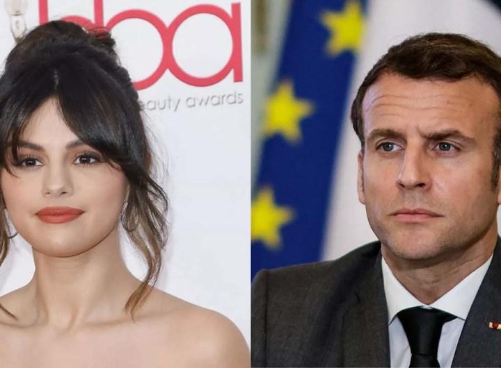 Vaccins: Macron répond à Selena Gomez et annonce l'envoi de doses en Afrique