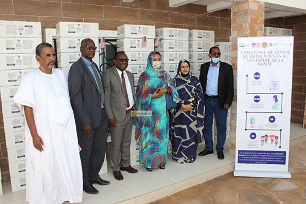 Don de médicaments des USA à la Mauritanie