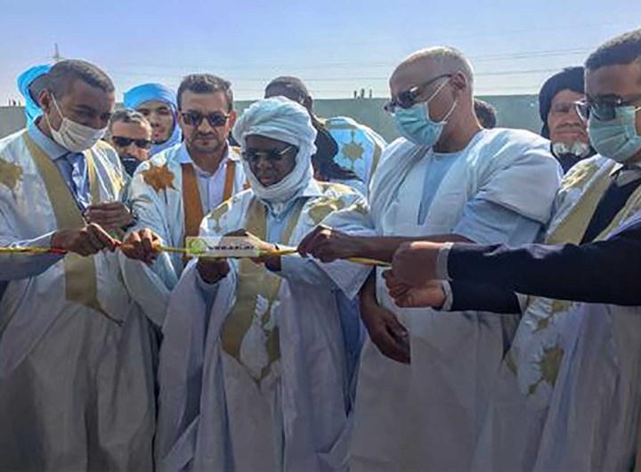 Inauguration de la mosquée Bilal Ben Rabah à Nouadhibou