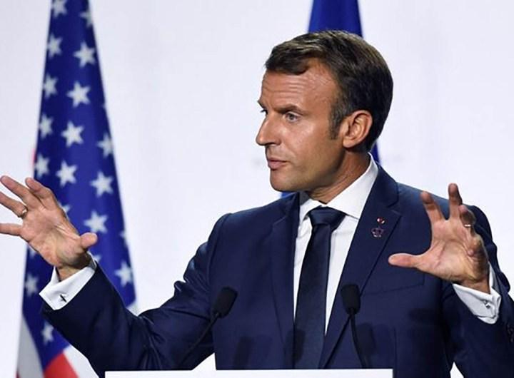 Macron fait la leçon aux Américains et Britanniques sur les vaccins