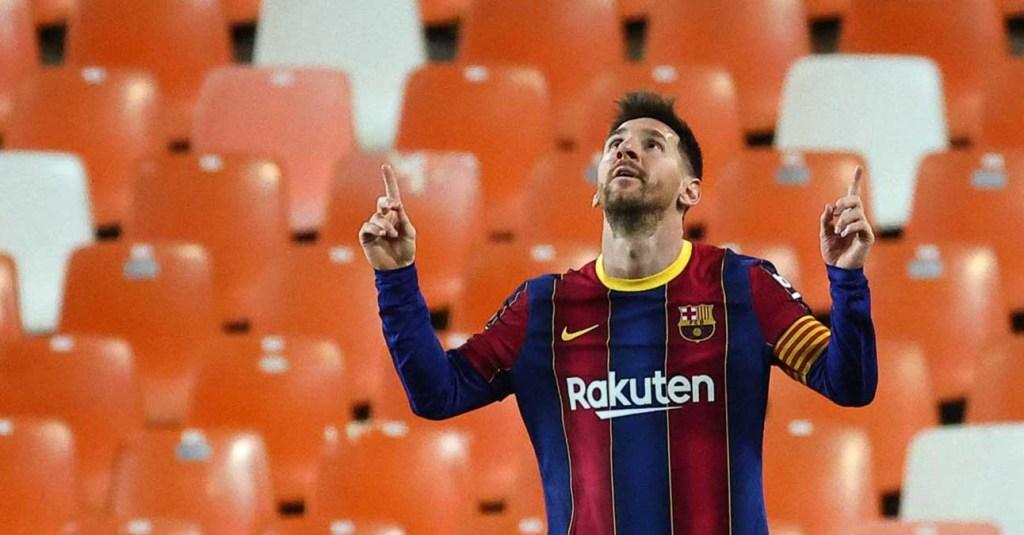 Le Barça gagne de justesse à Valence